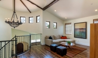 family room upstairs to overlook