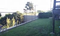 backyard off deck