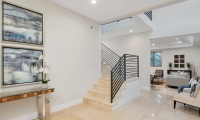 front entry stairs to living room AA