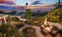 backyard view twilight AA