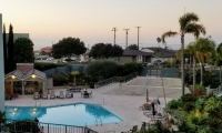 view over pool to ocean